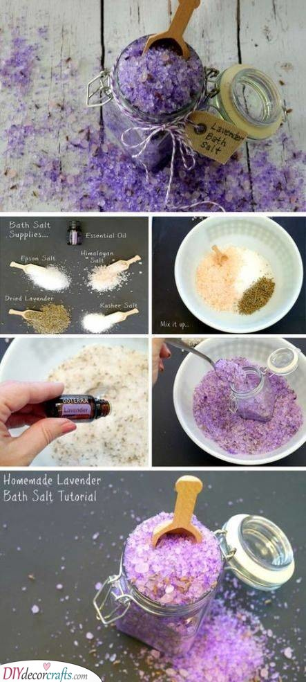 A Pack of Bath Salts - Creative and Homemade