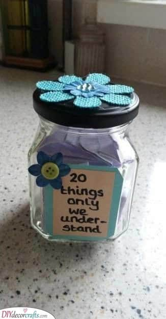 A Jar of Thoughts - Best Christmas Presents for Sisters