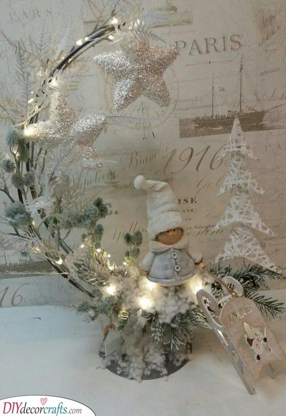 A Christmas Elf - Cute Ornaments