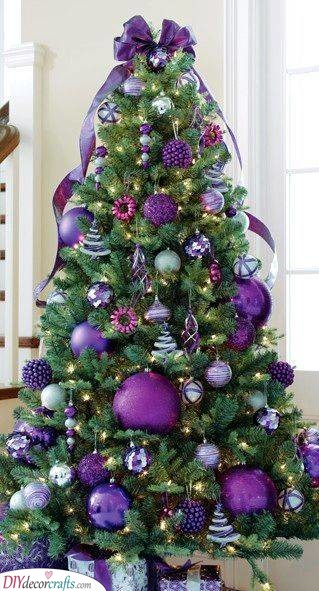 Perfect in Purple - Best Christmas Tree Decorations
