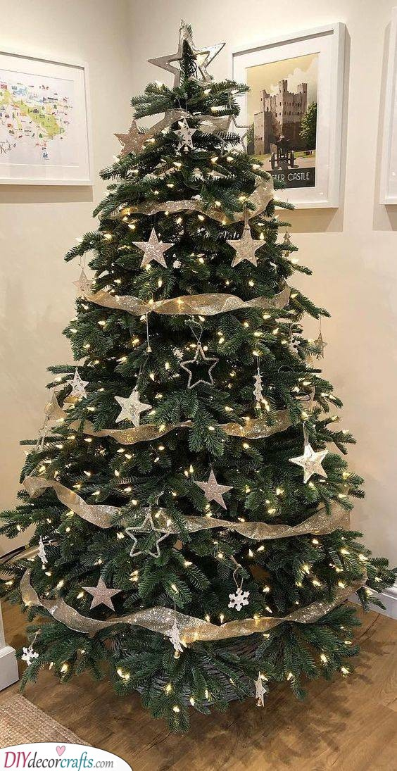 Simply Stunning - Elegant Christmas Tree Decorating Ideas
