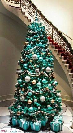 Beautiful in Blue - Best Christmas Tree Decorations