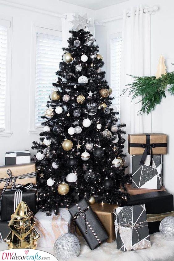 Black is the New Green - A Creative Tree