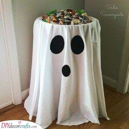 A Table of Treats - A Ghastly Ghost