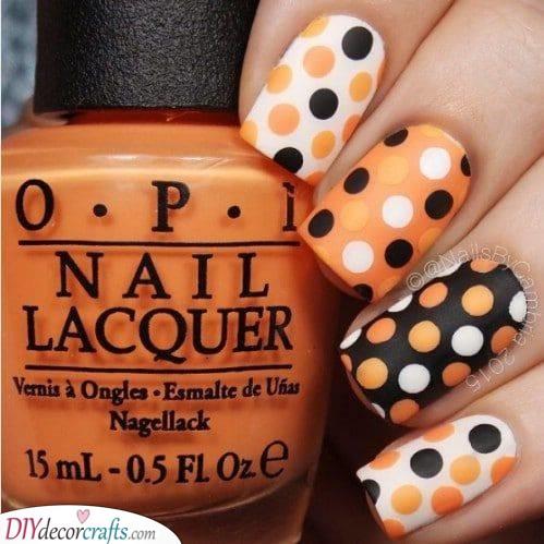 White, Orange and Black - A Unique Combination