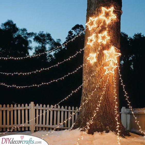 Shooting Stars - Festive Lighting for Your Garden