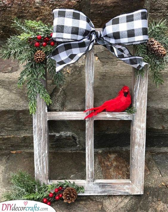 A Gorgeous Window Pane - Rustic Vibes