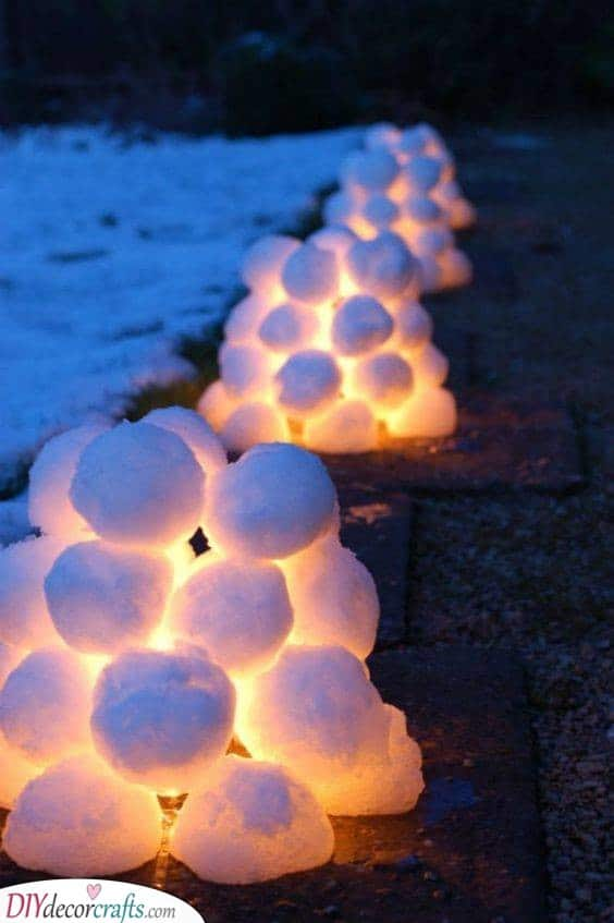 Snow That Lights Up - Outdoor Lighting
