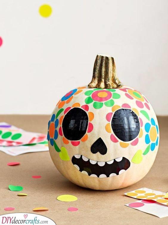 Day of the Dead Design - Sugar Skull Idea