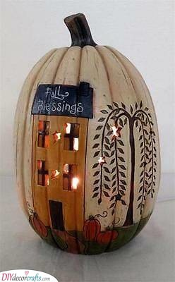 A Small House - Fall Blessings