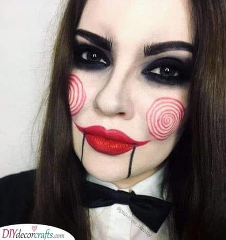 Creepy Jigsaw - Terrifying and Haunting
