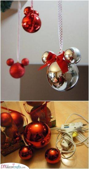Mickey Mouse - Disney DIY Christmas Decorations