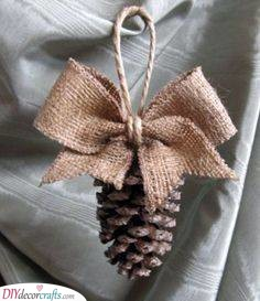 Pretty Pinecone - Earthy and Natural