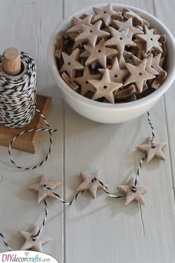 Gingerbread Stars - Strings of Stars