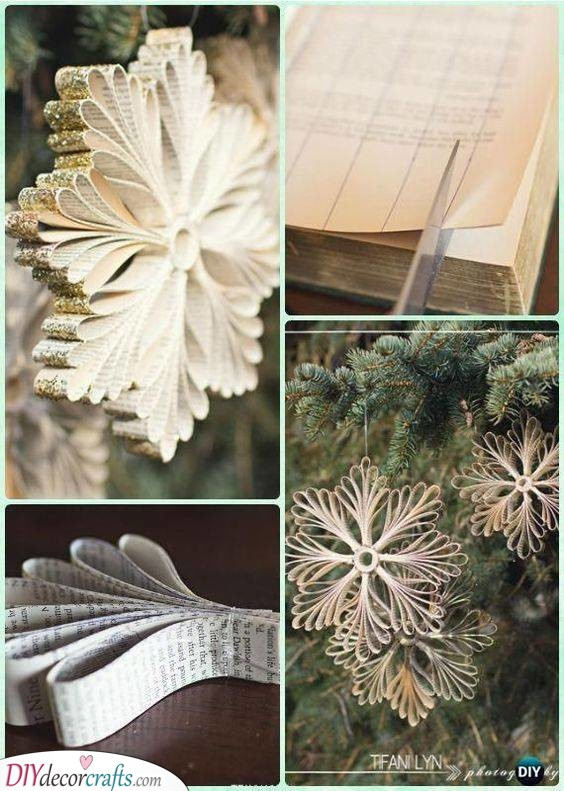 Handmade Paper Snowflakes - Beautiful and Refined