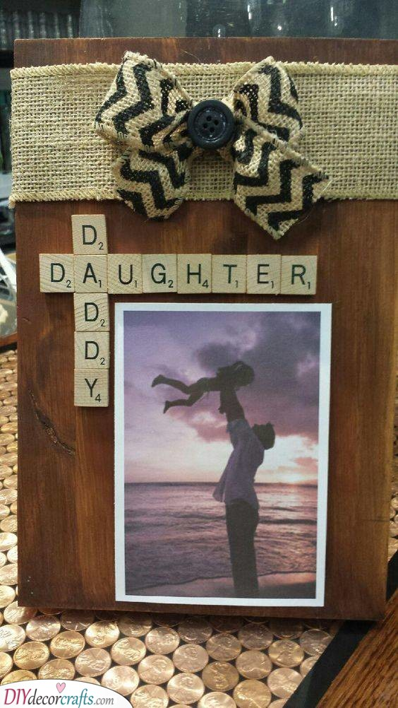 Father and Daughter - Personal Christmas Presents for Dad
