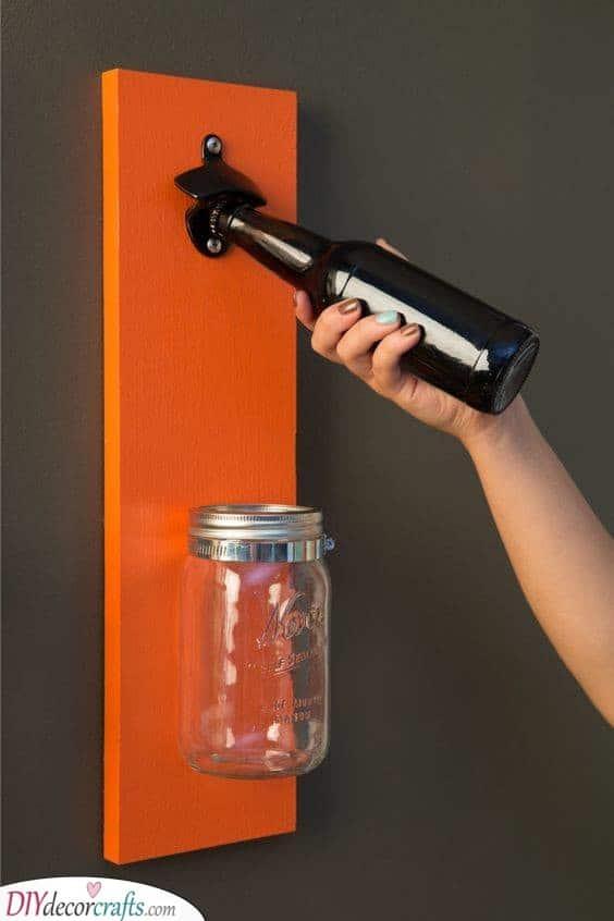 A Handmade Bottle Opener - Christmas Gift Ideas for Dad