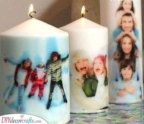 Personalised Candles - Christmas Presents for Dad
