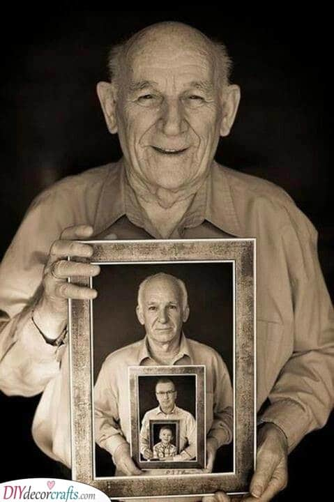 Photos of Generations - Christmas Presents for Dad