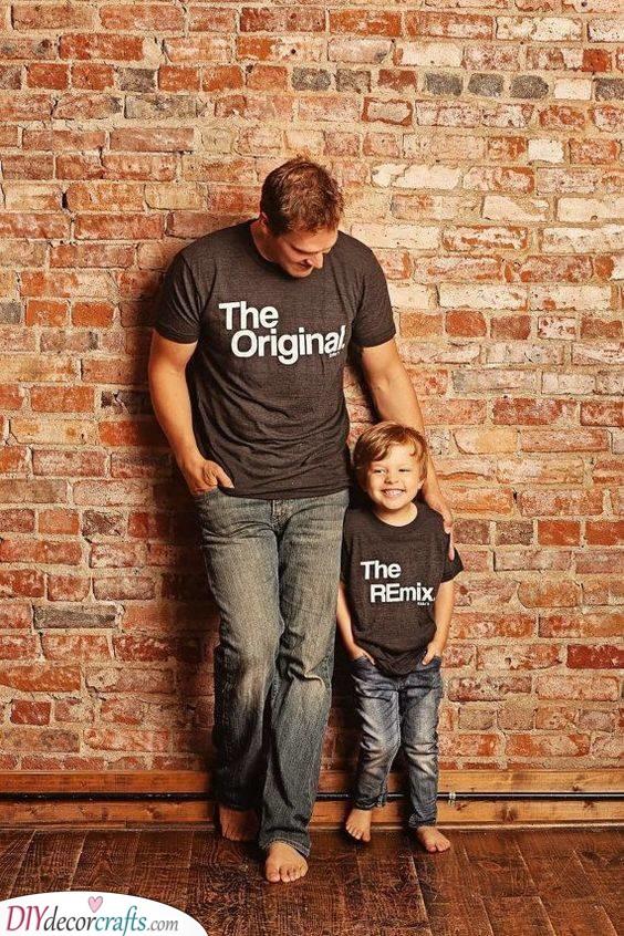 The Original Dad - Matching T-Shirts