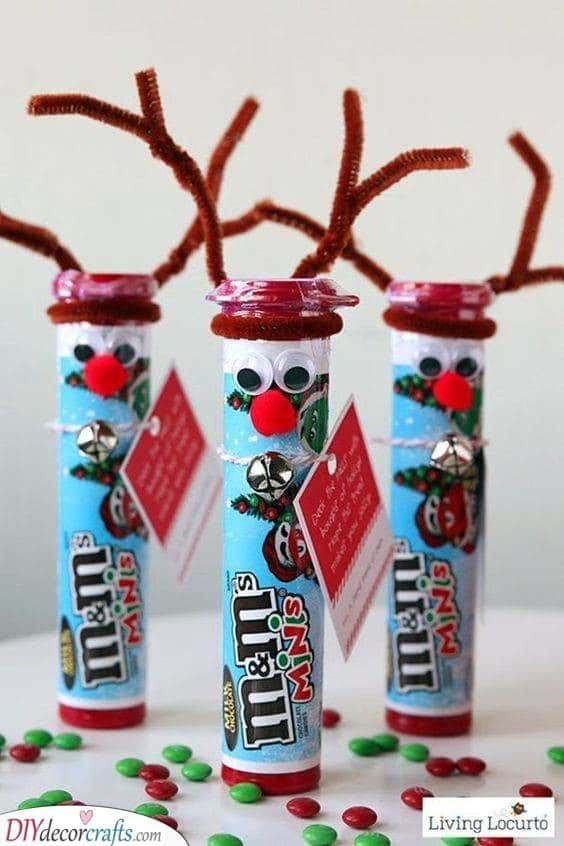 M&Ms in Christmas Design - Cute and Tasty