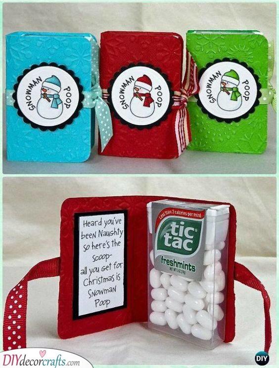 Snowman Poop - Christmas Presents for Boyfriend
