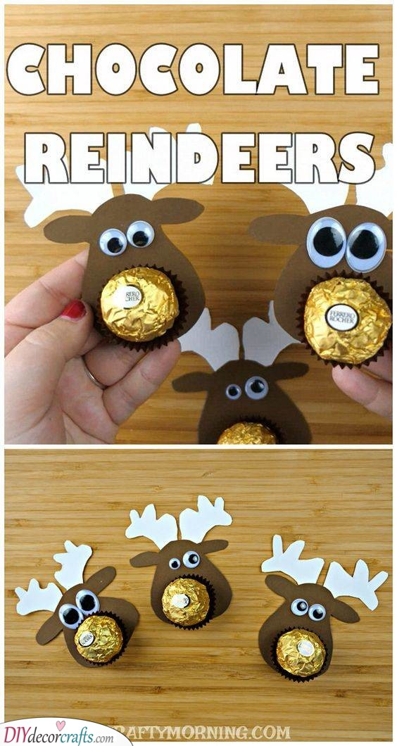 Chocolate Reindeers - Quick and Easy Gifts