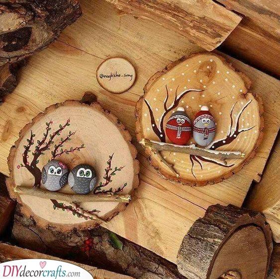 A Bit of Decor - Cosy Owls