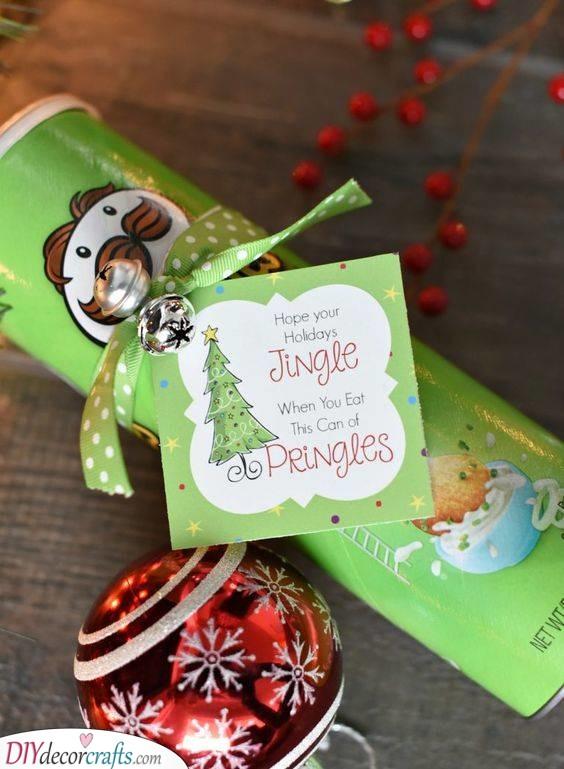 Jingle With Pringles - Unique and Creative