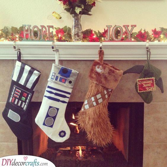 Star Wars Socks - Christmas Stockings
