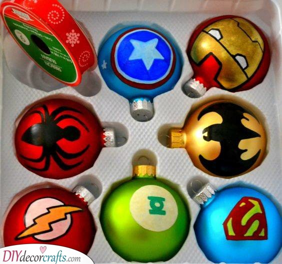 Christmas Tree Decorations - For a Superhero