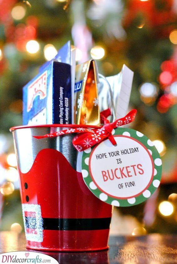 A Bucket of Fun - Christmas Presents for Boyfriends