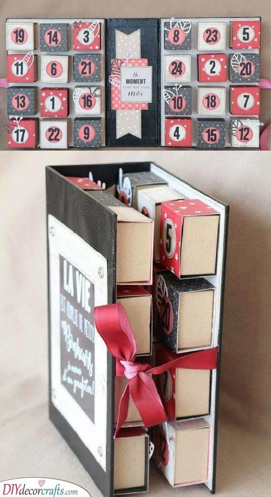 An Advent Calendar - Christmas Presents for Boyfriend