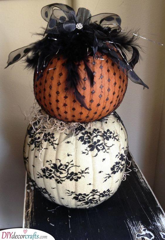 A Halloween Vibe - Spooky Halloween Pumpkin Decorations