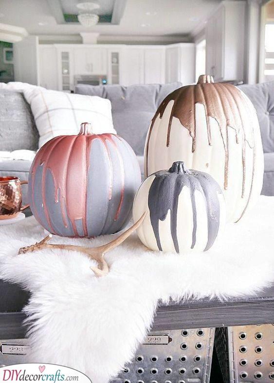 Dripping Paint - Stunning Pumpkins