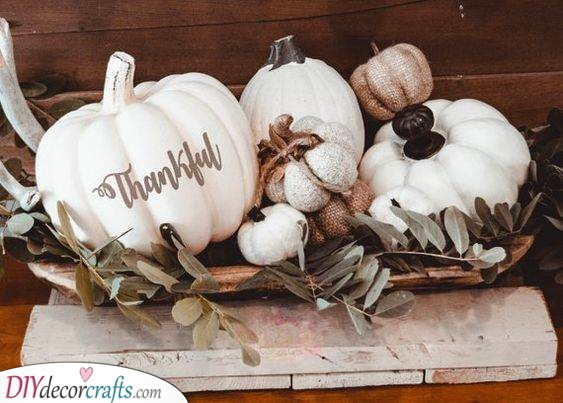Thankful for Thanksgiving - Amazing Pumpkin Ideas