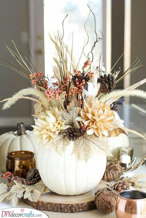An Autumn Arrangement - A Touch of Nature