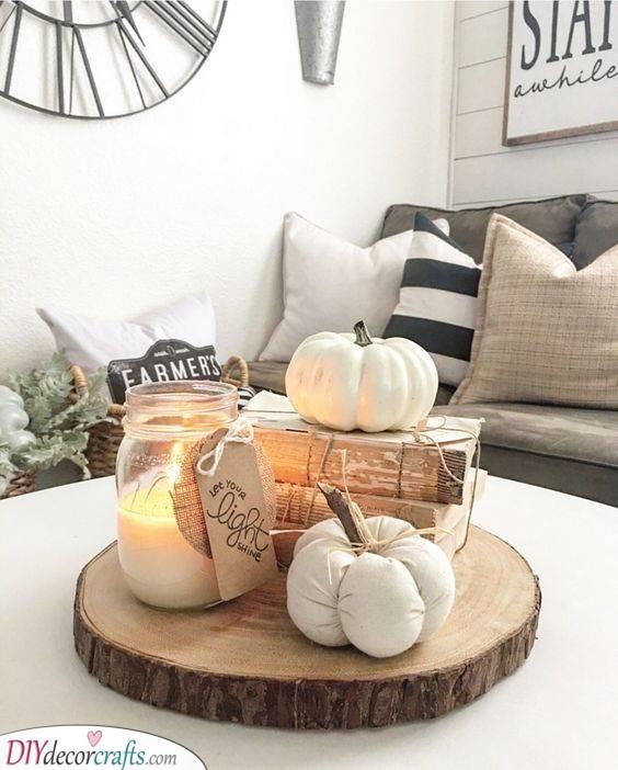 A Rustic Essence - Creative Pumpkin Decorating Ideas