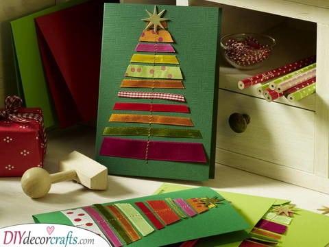 Fabric and Fun – Christmas Card Ideas