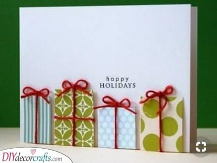 Boxes of Gifts - A Holiday Ambience