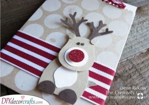 Another Reindeer - Homemade Christmas Card Ideas