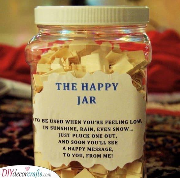 The Happy Jar - Christmas Present Ideas for Mom