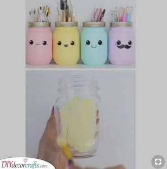 Cute Mason Jars - Christmas Present Ideas for Mom