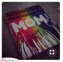 Melting Crayons - Getting Creative