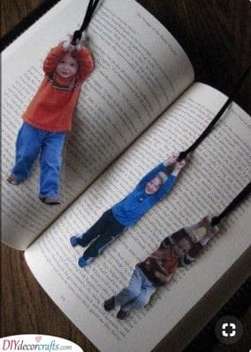 Kids as Bookmarks - Best Christmas Gifts for Mom