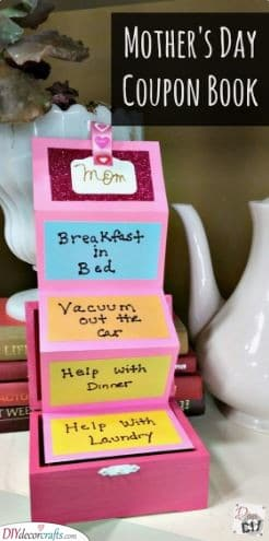A Set of Coupons - Best Christmas Gifts for Mom