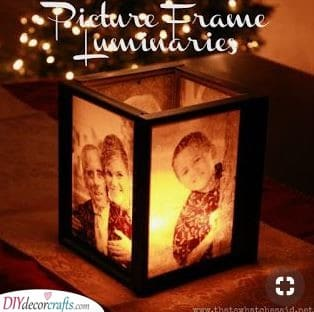 A Personalised Candle Holder - Christmas Presents for Mom