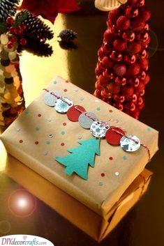 A Christmas Vibe - Christmas Gift Wrapping Ideas