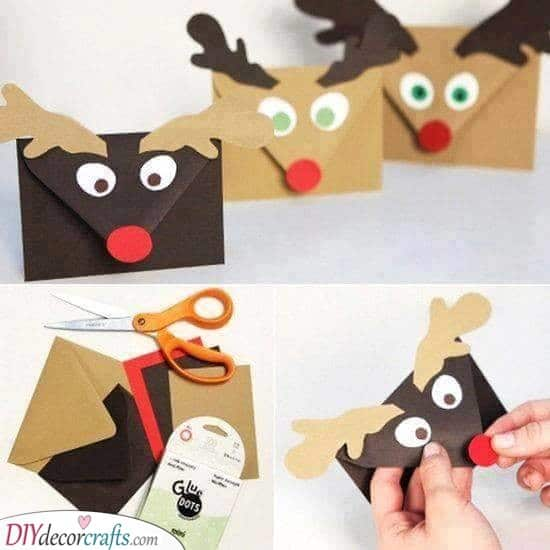 Adorable Reindeers - With Red Noses