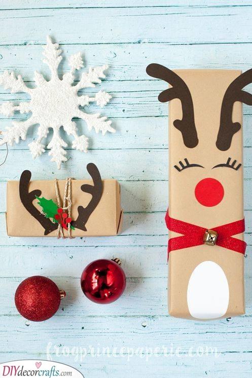 Rudolf the Red-Nosed Reindeer - A Cute Look